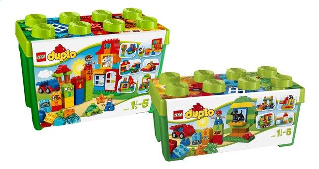 Afbeelding van LEGO DUPLO 10572 Alles in één groene doos + 10580 Deluxe bouwdoos from DreamLand