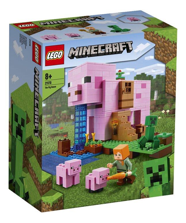 LEGO Minecraft 21170 Het varkenshuis