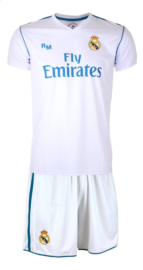 Afbeelding van Voetbaloutfit Real Madrid Cristiano Ronaldo wit from DreamLand