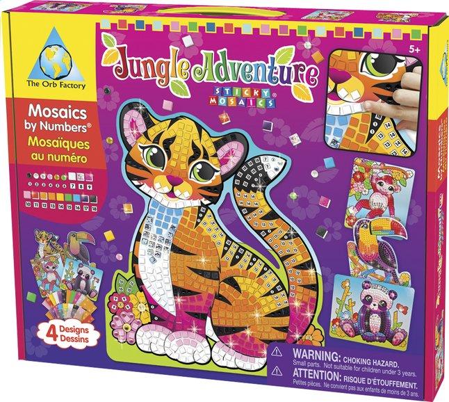 Image pour The Orb Factory Mosaïque par numéros Jungle Adventure à partir de DreamLand