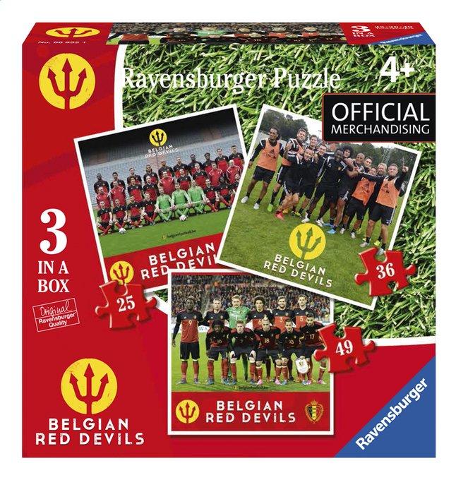 Afbeelding van Ravensburger puzzel 3-in-1 Belgian Red Devils from DreamLand