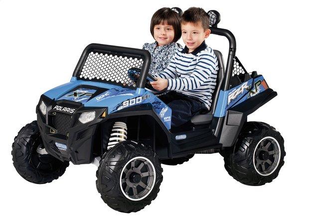 Afbeelding van Peg-Pérego elektrische jeep Polaris Ranger RZR900 blauw from DreamLand