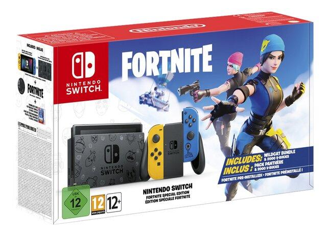 Switch Fortnite console + spel