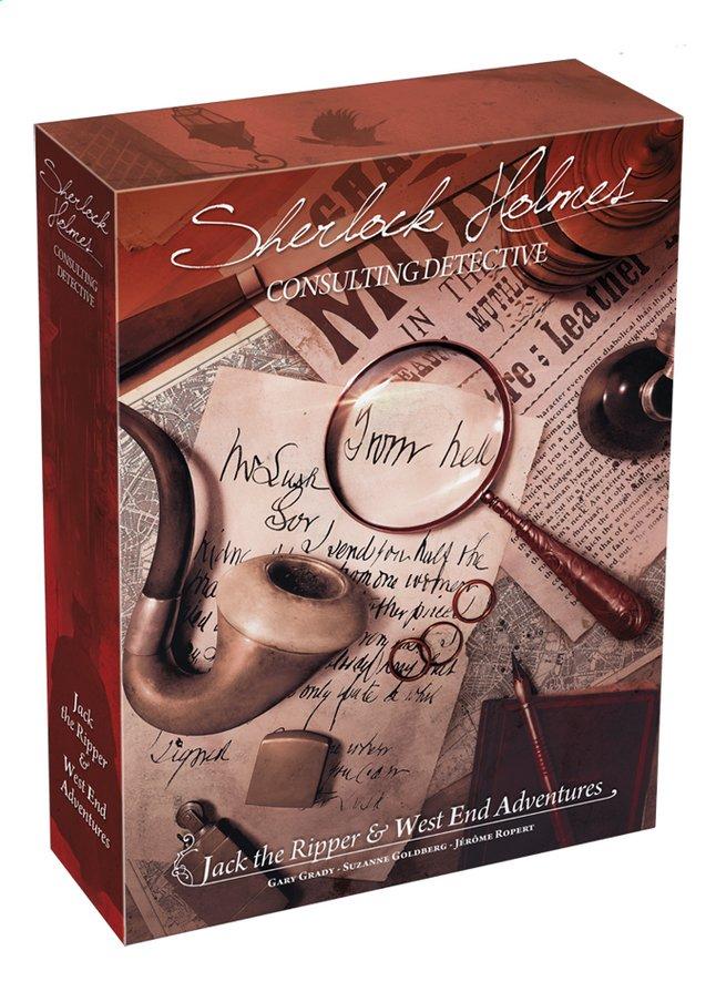 Afbeelding van Sherlock Holmes uitbreiding: Jack the Ripper & West End Adventures ENG from DreamLand
