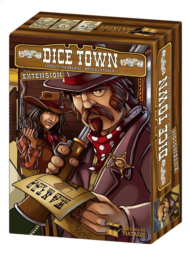 Afbeelding van Dice Town uitbreiding ENG from DreamLand
