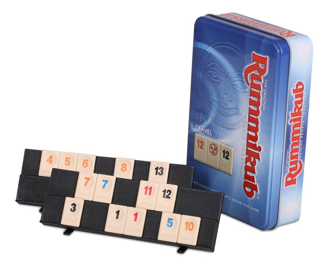Afbeelding van Rummikub: reiseditie in tinnen blik from DreamLand