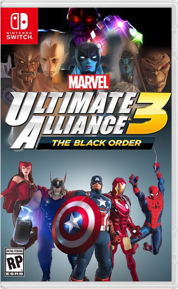Afbeelding van Nintendo Switch Marvel Ultimate Alliance 3 The Black Order ENG from DreamLand