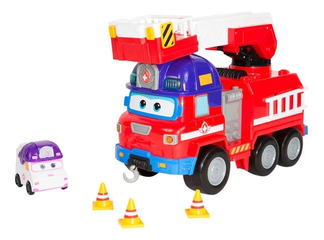Super Wings Camion de pompiers Rescue Riders et Dizzy