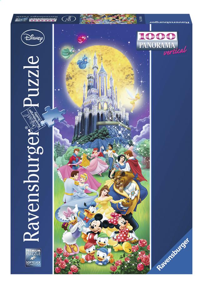 Image pour Ravensburger puzzle panorama Le château de Disney à partir de DreamLand