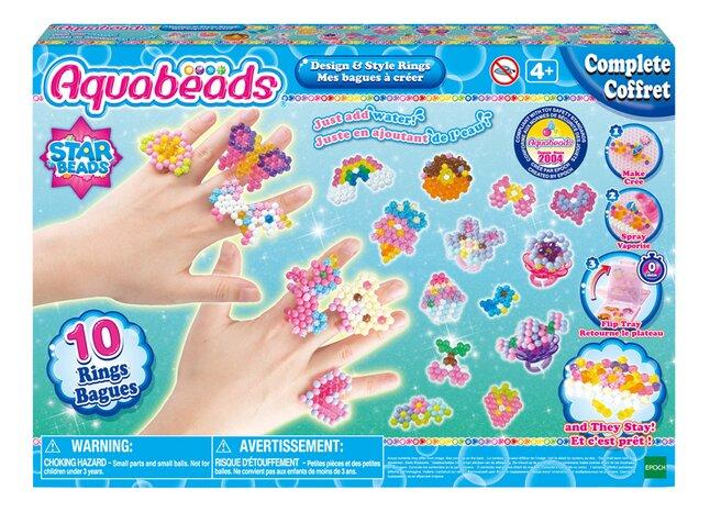 EPOCH Aquabeads Star Beads Mes bagues à créer