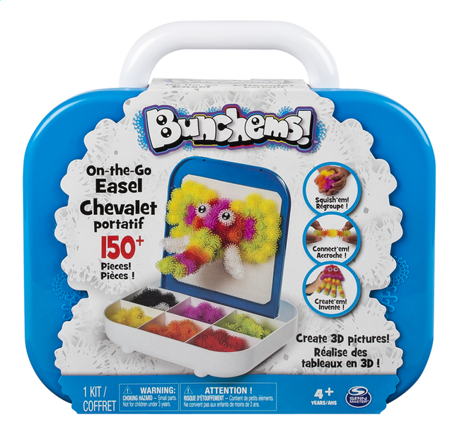 Afbeelding van Spin Master Bunchems! On-the-Go Easel from DreamLand
