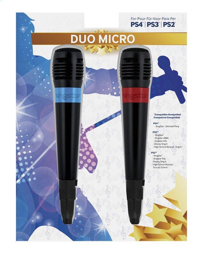 Afbeelding van bigben PS4 set van 2 Singstar-microfoons from DreamLand