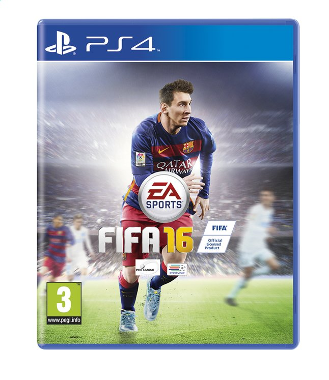 Afbeelding van PS4 FIFA 16 NL/FR from DreamLand