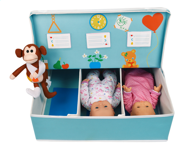 Afbeelding van Fun2Give opbergbox Pop-It-Up Hospital from DreamLand