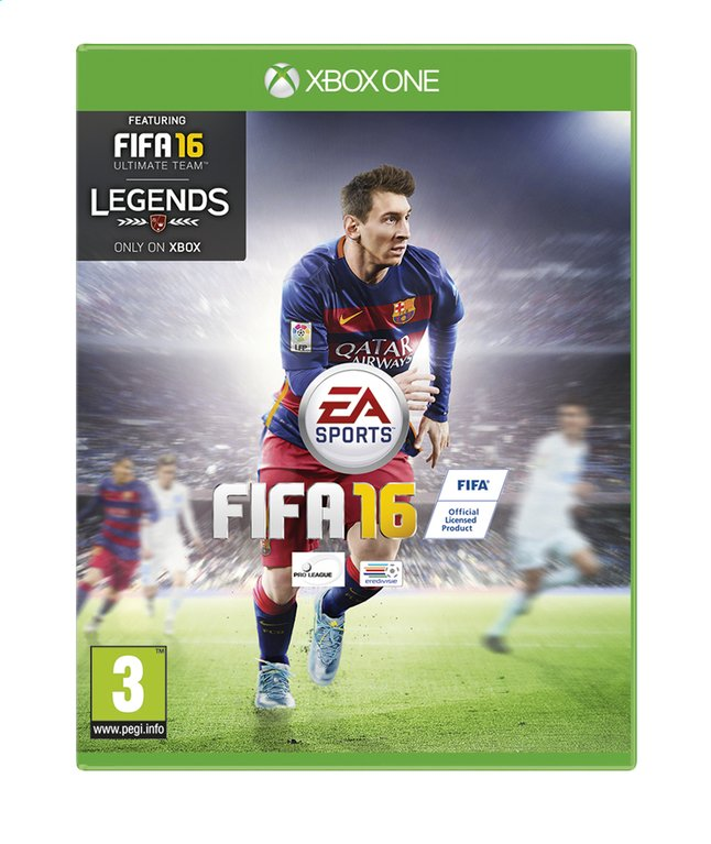 Afbeelding van XBOX One FIFA 16 NL/FR from DreamLand