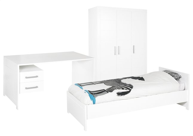 Afbeelding van 3-delige kamer Marika met kleerkast met 3 deuren from DreamLand