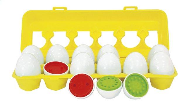 Match & Count 12 œufs colorés