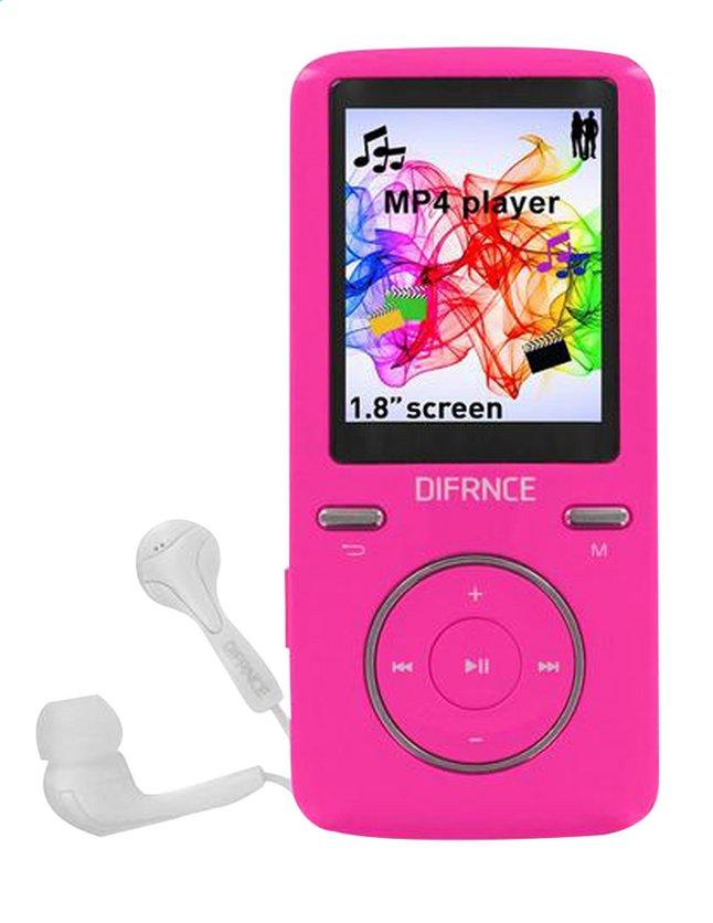 Afbeelding van Difrnce mp4-speler MP1805 8 GB roze from DreamLand