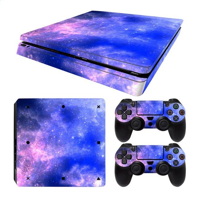 Image pour PS4 Slim skins Galaxy pour console + 2 skins pour manettes à partir de DreamLand