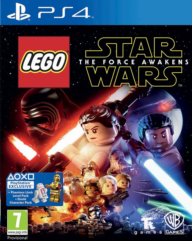 Afbeelding van PS4 LEGO Star Wars: The Force Awakens ENG/FR from DreamLand