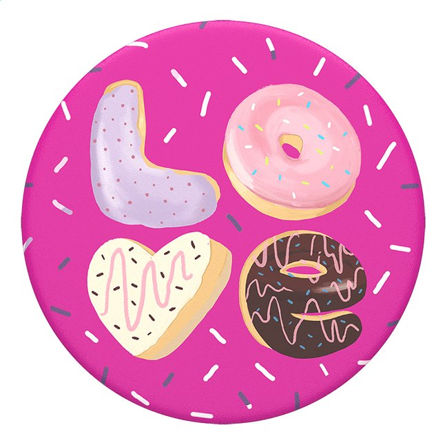 Afbeelding van PopSockets Phone grip Love Donut from DreamLand