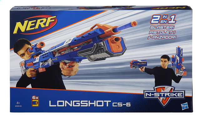 Afbeelding van Nerf blaster Elite N-Strike Long Shot CS-6 from DreamLand