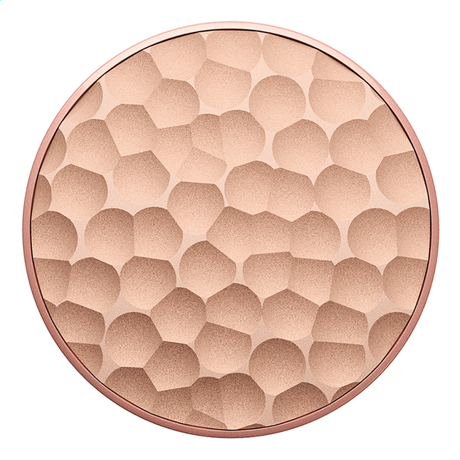 Afbeelding van PopSockets Phone grip Hammered Metal Rose Gold from DreamLand