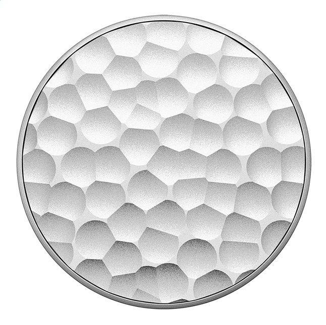 Afbeelding van PopSockets Phone grip Hammered Metal Silver from DreamLand