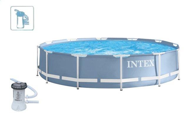 intex piscine prism frame pool 3 66 m dreamland. Black Bedroom Furniture Sets. Home Design Ideas