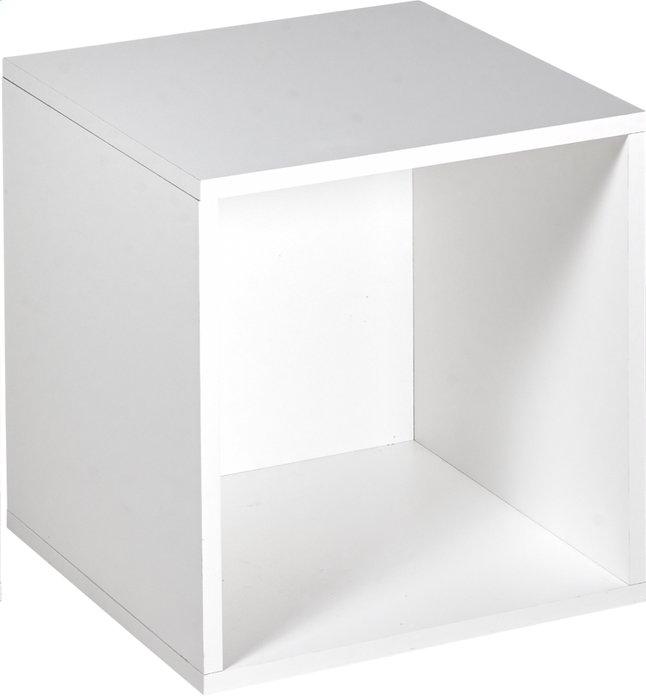 Image pour Cube pour garde-robe Basil blanc à partir de DreamLand