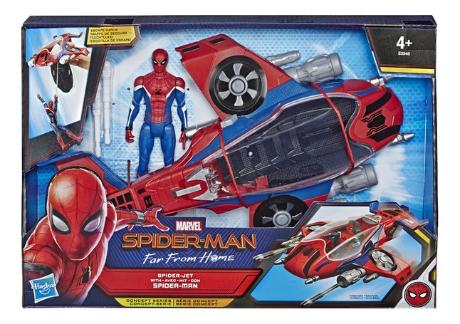Afbeelding van Spider-Man Far From Home Spider-Jet met Spider-Man from DreamLand