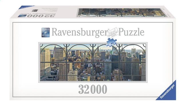 Afbeelding van Ravensburger puzzel New York City window from DreamLand