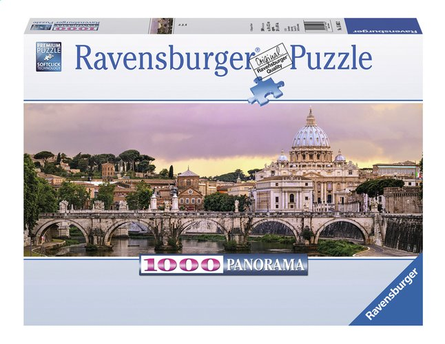 Afbeelding van Ravensburger panoramapuzzel Rome from DreamLand