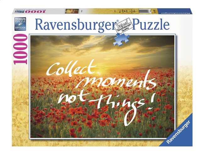 Afbeelding van Ravensburger puzzel Collect moments not Things! from DreamLand