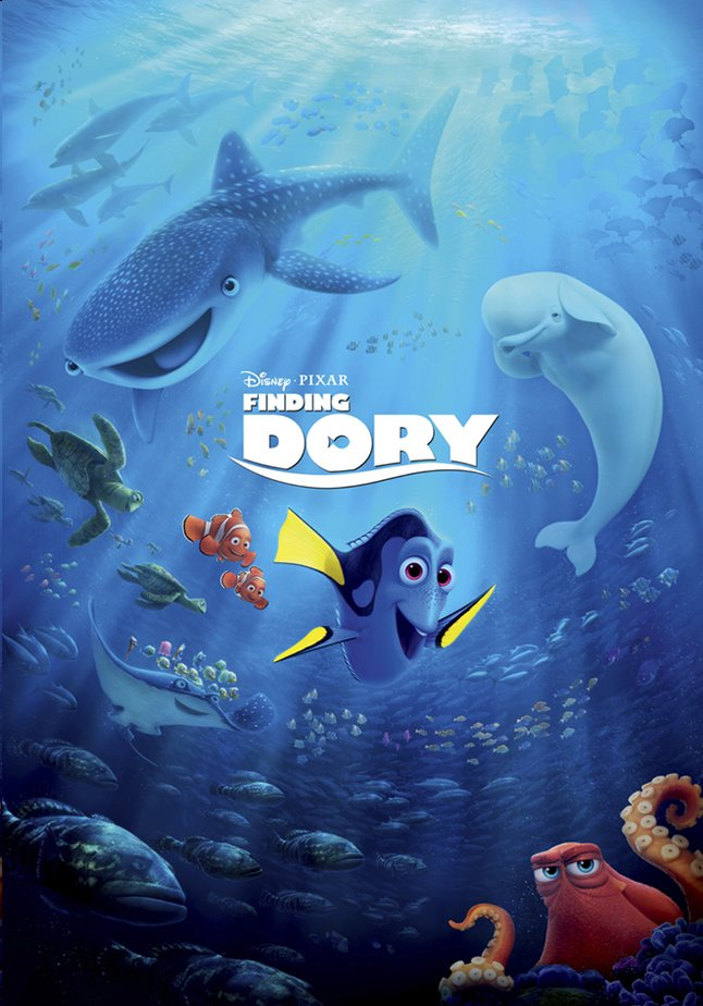 Afbeelding van Dvd Disney Finding Dory from DreamLand