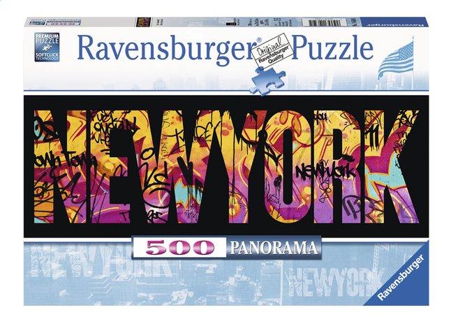 Image pour Ravensburger puzzle panorama New-York Graffiti à partir de DreamLand