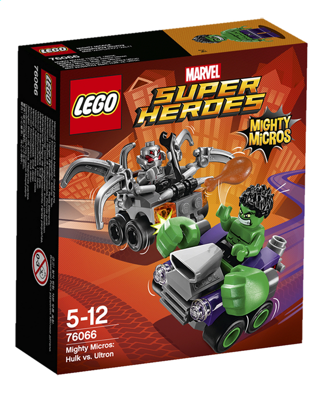Afbeelding van LEGO Super Heroes 76066 Mighty Micros: Hulk vs. Ultron from DreamLand