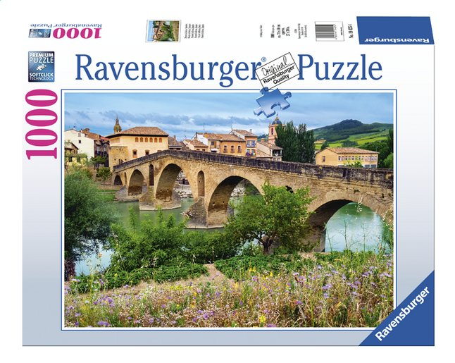 Afbeelding van Ravensburger puzzel Puente la Reina, Spanje from DreamLand