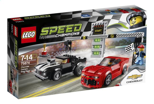 Afbeelding van LEGO Speed Champions 75874 Chevrolet Camaro dragracer from DreamLand