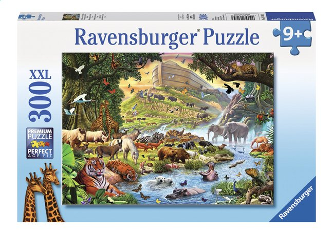 Afbeelding van Ravensburger XXL puzzel De dieren uit de ark van Noah from DreamLand