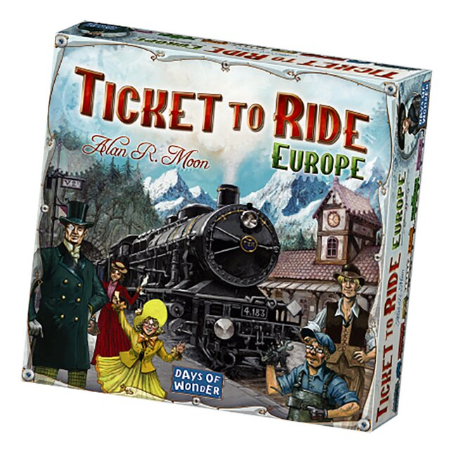 Afbeelding van Ticket to ride Europe from DreamLand