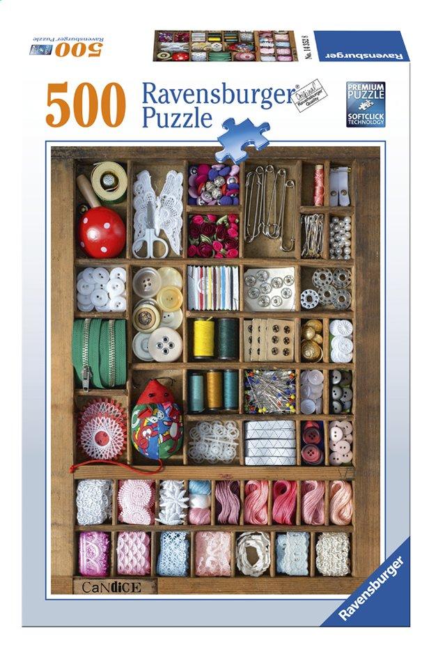 Image pour Ravensburger puzzle La boîte à couture à partir de DreamLand