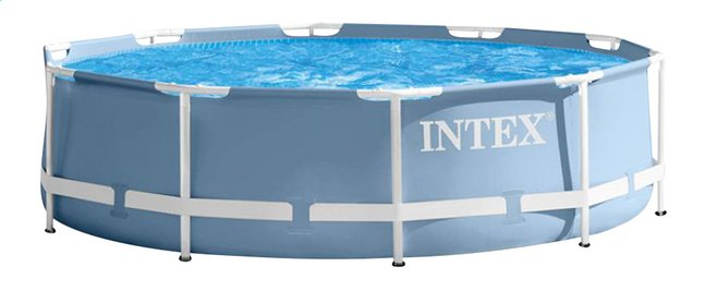 Good Image Pour Intex Piscine Prism Frame Pool Diamètre 3,05 M à Partir De  DreamLand