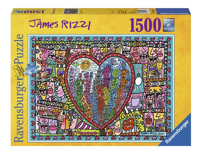 Image pour Ravensburger puzzle James Rizzi All that love à partir de DreamLand