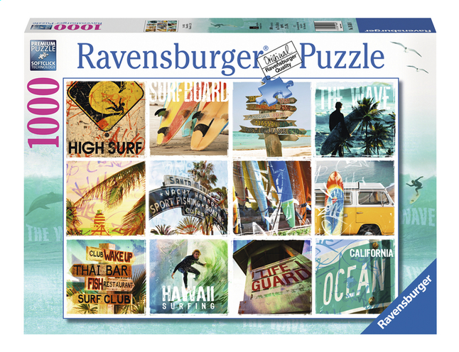Afbeelding van Ravensburger puzzel Surfin' USA from DreamLand
