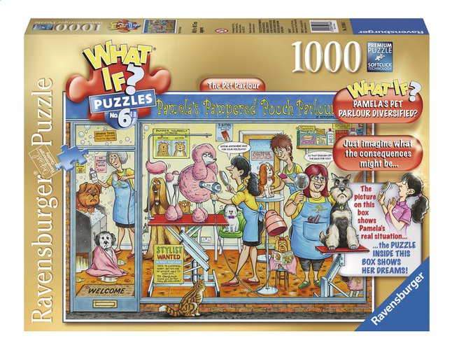 Image pour Ravensburger puzzle What if? The Pet Parlour à partir de DreamLand