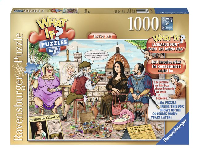 Image pour Ravensburger puzzle What if? The portrait à partir de DreamLand