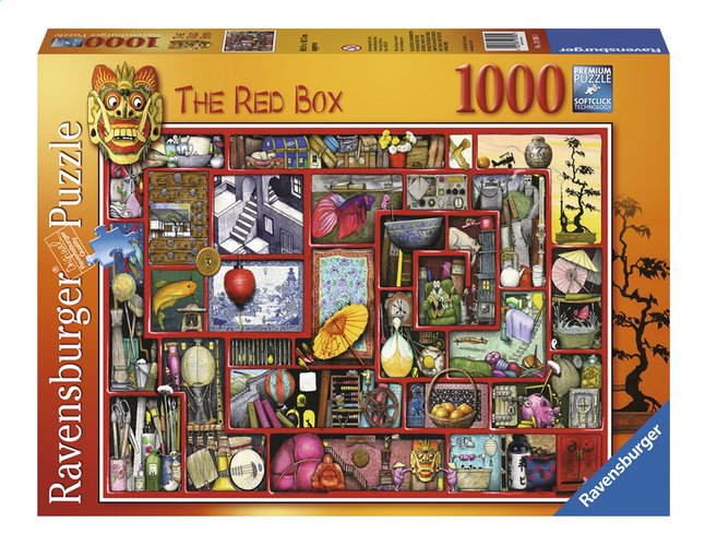 Afbeelding van Ravensburger puzzel The Rex Box from DreamLand