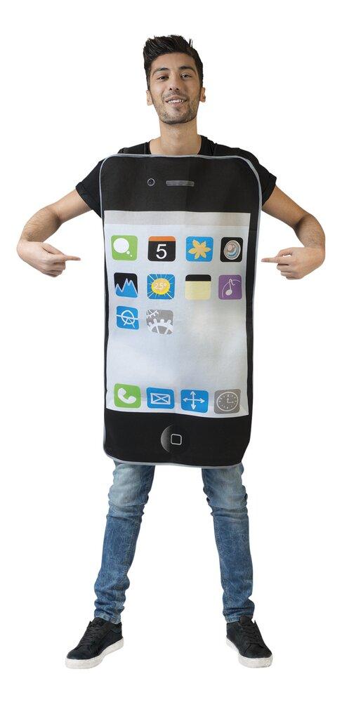 Afbeelding van Verkleedpak Smartphone één maat from DreamLand