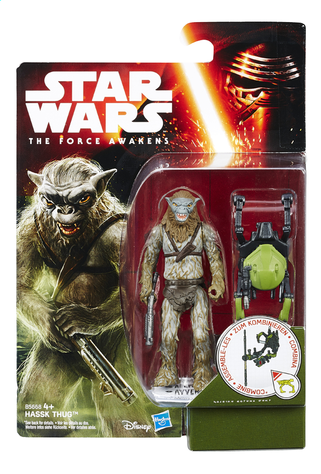 Afbeelding van Figuur Star Wars Build-A-Weapon Hassk Thug from DreamLand